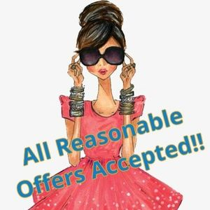 Yassss!! All Reasonable Offers Accept!!